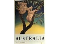 Aussie Spinners – Tea Towel - Koalas