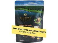 Macadamias Australia – Dark Chocolate Macadamia Pieces