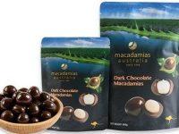 Macadamias Australia – Dark Chocolate Macadamias