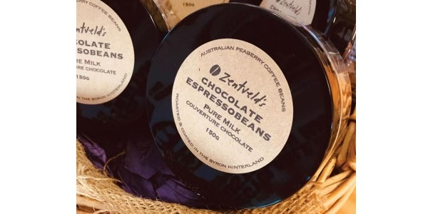 Zentveld's Australian Coffee – 150 g Milk Chocolate Espresso Bean