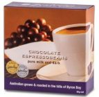Zentveld's Australian Coffee – 50g Milk & Dark Chocolate Espresso Beans