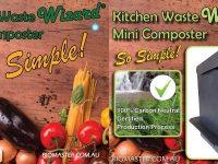 Biomaster - Kitchen Waste Wizard Mini Composter