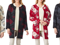 Aklanda Australia – Floral Long Coat