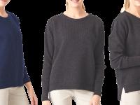 Aklanda Australia – Merino Long Rib Knit Crew