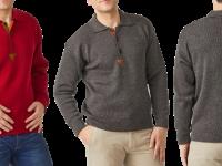 Aklanda Australia – Merino Rib Knit Polo