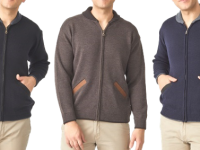 Aklanda Australia – Merino Shawl Zip Cardigan with Pockets