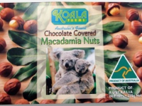 Koala Farms – Item No. 1001 - Milk Chocolate Covered Macadamia Nuts