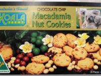 Koala Farms – Item No. 1003 - Chocolate Chip Macadamia Nut Cookies