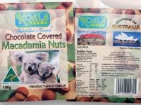 Koala Farms – Item No. 1014 - Milk Chocolate Covered Macadamia Nuts