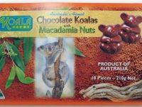 Koala Farms – Item No. 1050 - Milk Chocolate Koalas with Macadamia Nut Pieces