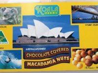 Koala Farms – Item No. 1081 - Milk Chocolate Covered Macadamia Nuts - Sydney Souvenir Box