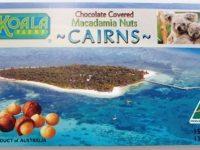 Koala Farms – Item No. 1084 - Milk Chocolate Covered Macadamia Nuts – Cairns Souvenir Box