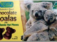 Koala Farms – Item No. 2036 - Milk Chocolate Koalas with Macadamia Nuts