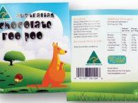 Koala Farms – Item No. 2056 - Roo Poo - Dark Chocolate Buttons