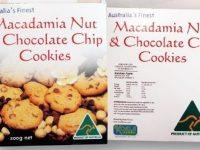 Koala Farms – Item No. 2091 - Chocolate Chip Macadamia Cookies