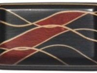 Australian Mallee Art – Inlaid Brooch 3 - Australian Ancient Redgum