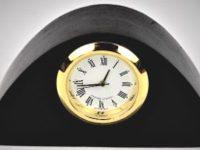 Australian Mallee Art – Mini Clock 2 - Australian Ancient Redgum