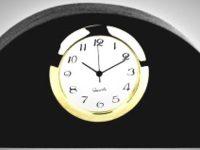 Australian Mallee Art – Small Clock - Australian Ancient Redgum