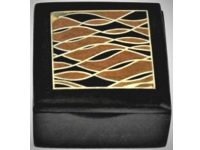 Australian Mallee Art – Small Inlaid Box 1 - Australian Ancient Redgum