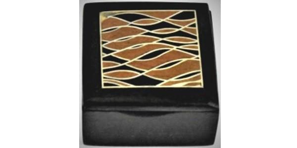 Australian Mallee Art – Small Inlaid Box 1 – Australian Ancient Redgum