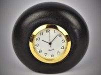 Australian Mallee Art – Small Round Clock - Australian Ancient Redgum