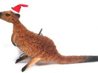 Australian Mallee Art – Australian Christmas Tree Ornament - Kangaroo
