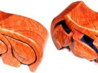 Australian Mallee Art – Australian Wood Jewellery Ring Box - North Queensland Maple