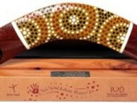 Australian Mallee Art – Boxed Set Dot Art Boomerang (Small) 1