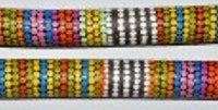 Australian Mallee Art – Hand Painted Music Sticks 2 - Aboriginal Dot Art