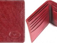Australian Mallee Art – Kangaroo Nappa Men's Wallet 3