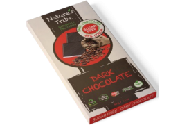 Praline Holdings Pty Ltd  – (Nature's Tribe) Dark Chocolate 88 g Bar