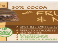 Praline Holdings Pty Ltd – (Nature's Tribe) Fruit & Nut No Added Sugar Milk Chocolate 38 g Bar