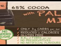 Praline Holdings Pty Ltd  – (Nature's Tribe) Paleo Mix Sugar Free Dark Chocolate 38 g Bar