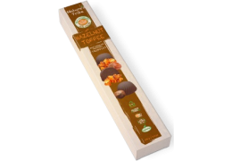 Praline Holdings Pty Ltd – (Nature's Tribe) Hazelnut Toffee No Added Sugar Milk Chocolate Truffles 100 g Box