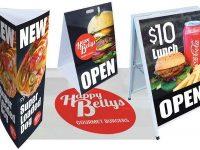 Auspress Marketing – A-Frames, Bollard & Floor Traffic Signs