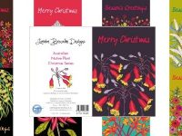 Lorraine Brownlee Designs – Native Plant Christmas Cards