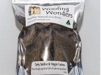Woofing Wonders – Tasty Sardine & Veggie Crackers
