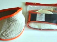 Fair Air Fire Mask Set - Khaki Orange Fire Mask Set