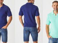 Aklanda Australia – Jay Polo Short Sleeve Top