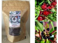 Chocolate On Purpose – Dark Chocolate with Wild Rosella (Wyrrung) & Mountain Pepperberry (Mourao)