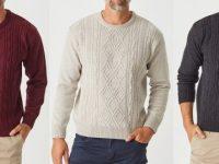 Aklanda Australia – Aaron Cable Crew Sweater