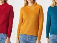 Aklanda Australia – CC Raglan Fold Collar Sweater