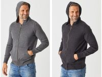 Aklanda Australia – Jacob Zip Hoodie with Pockets