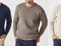Aklanda Australia – Merino Diamond Bliss Crew Sweater
