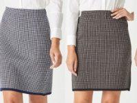 Aklanda Australia – Merino Herringbone Skirt