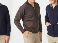 Aklanda Australia – Merino Shawl Zip Cardigan with Pockets