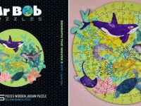 Mr Bob Puzzles – Beneath the Waves - Round Puzzle