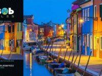 Mr Bob Puzzles – Burano Italy By Night