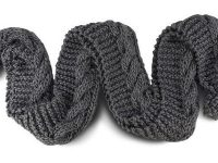 UGG Since 1974 - Oversized Chunky Cable Knit Scarf