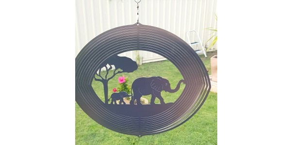 Aussie Spinners – Designer Collection – Elephants